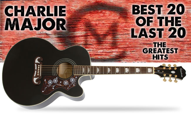 Pre-Order Charlie Major's New Album and You Could Win an EJ-200CE