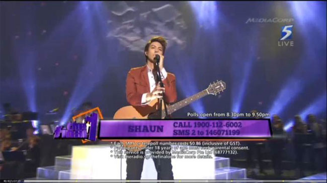 Shaun Jansen With Masterbilt on Singapore's The Final 1