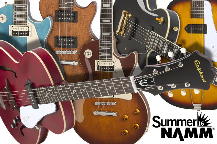 Epiphone at Summer NAMM 2016