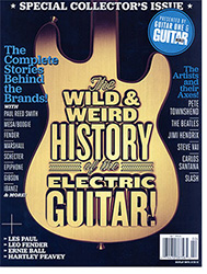 Guitar World To Publish The Wild & Weird History of the Electric Guitar!