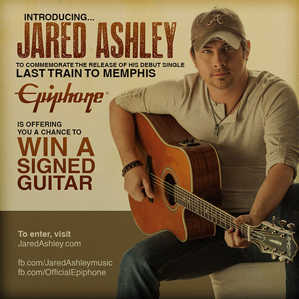 Win an Epiphone Masterbilt DR-500MCE From Jared Ashley