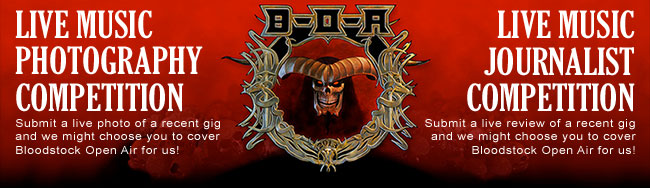 You Could Cover Bloodstock Open Air for Epiphone.com