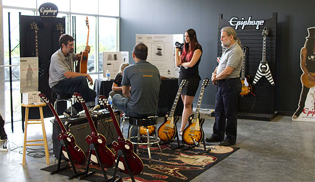 Epiphone Celebrates 140th Anniversary With Open House Event