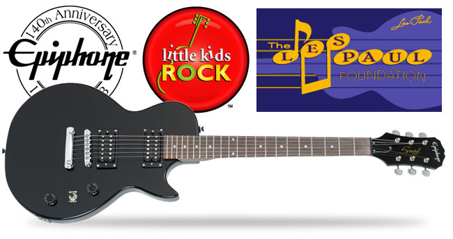 The Les Paul Foundation Helps Little Kids Rock Across The Country