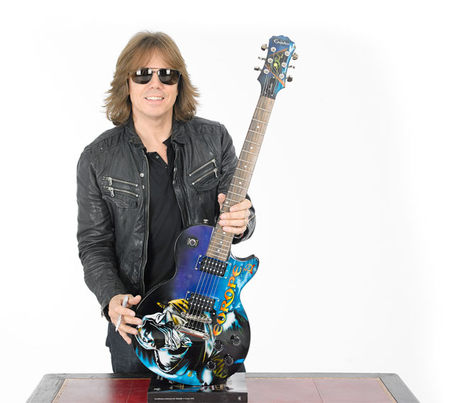 Europe's Exclusive Auction of 10 Special Edition Airbrushed Epiphone Guitars