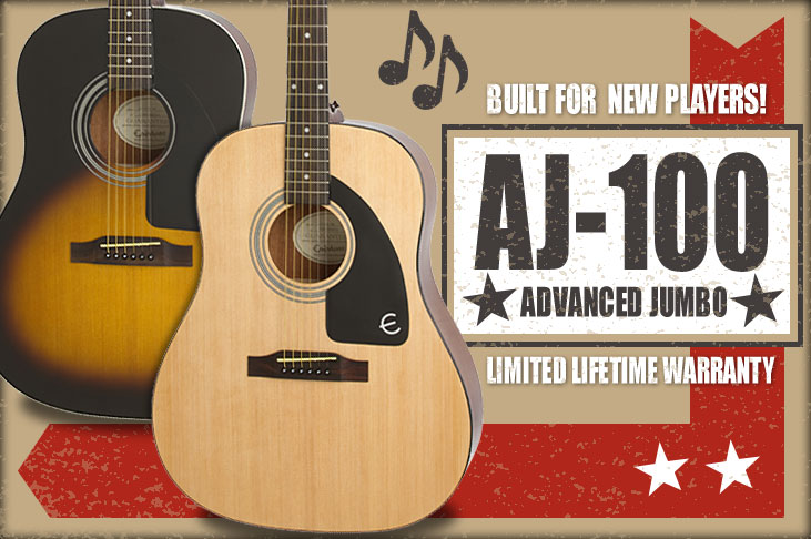 Ltd. Ed. AJ-100 Acoustic Guitar