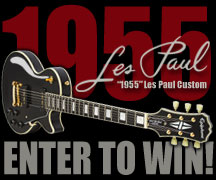 Enter to Win a Ltd. Edition Inspired by 1955 Les Paul Custom