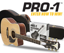Enter to Win an Epiphone PRO-1 ULTRA