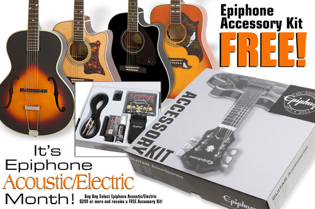 Buy A PRO-1 Acoustic in September and Get a Free PRO-1 Acoustic Accessory Kit