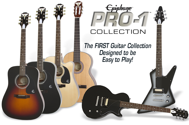 the epiphone guide to buying your child 39 s first guitar epiphone guitars. Black Bedroom Furniture Sets. Home Design Ideas