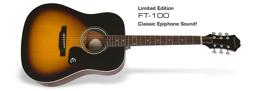 Epiphone FT-100 Acoustic: Classic Epiphone Sound
