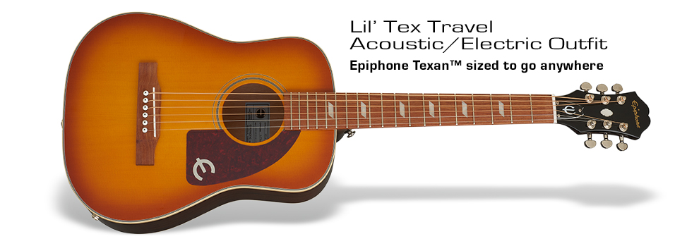Lil' Tex Travel Acoustic/Electric Outfit: Historic Legacy to Go!