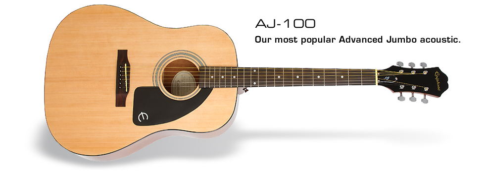 Ltd. Ed. AJ-100 Acoustic Guitar: