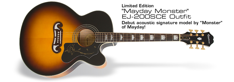 "Ltd. Ed. ""Mayday Monster"" EJ-200SCE Outfit:"