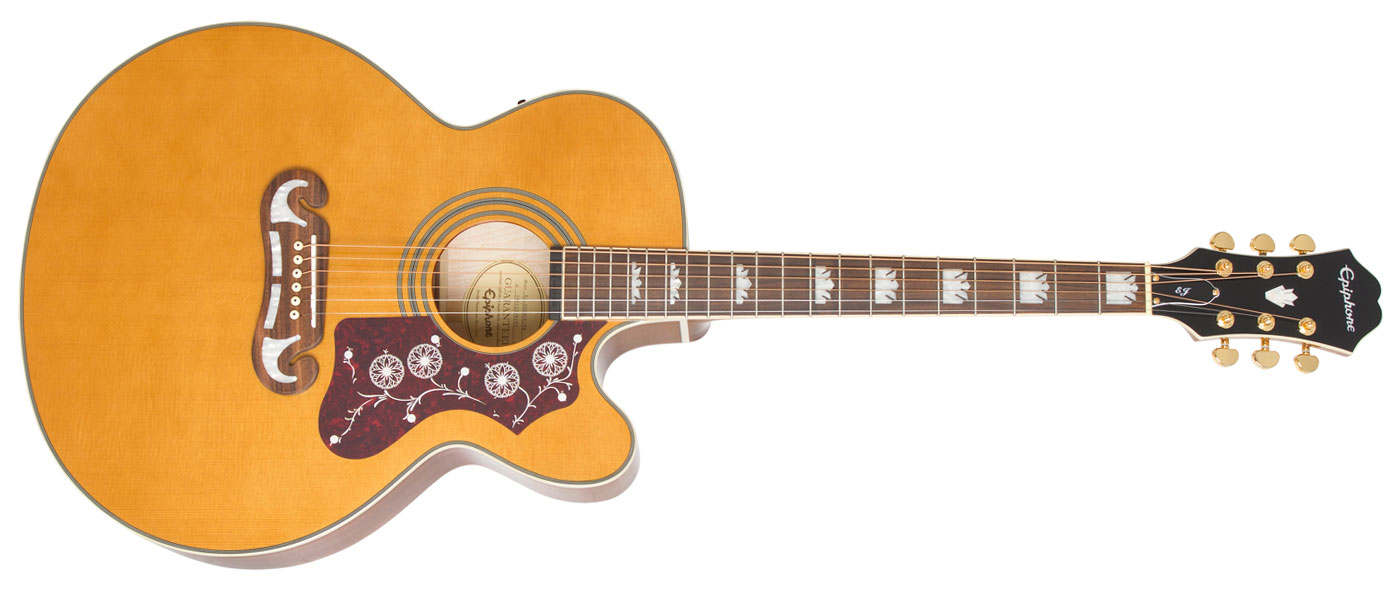 Epiphone Ej 200sce Steel Guitar Wiring Diagram Vintage Natural Vn