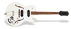 "Ltd. Ed. George Thorogood ""White Fang"" ES-125TDC Outfit"