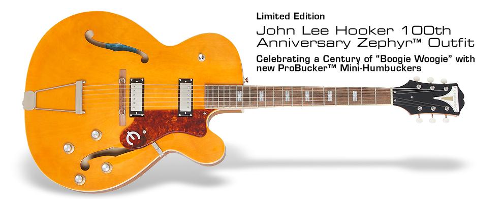 Ltd. Ed. John Lee Hooker 100th Anniversary Zephyr Outfit: