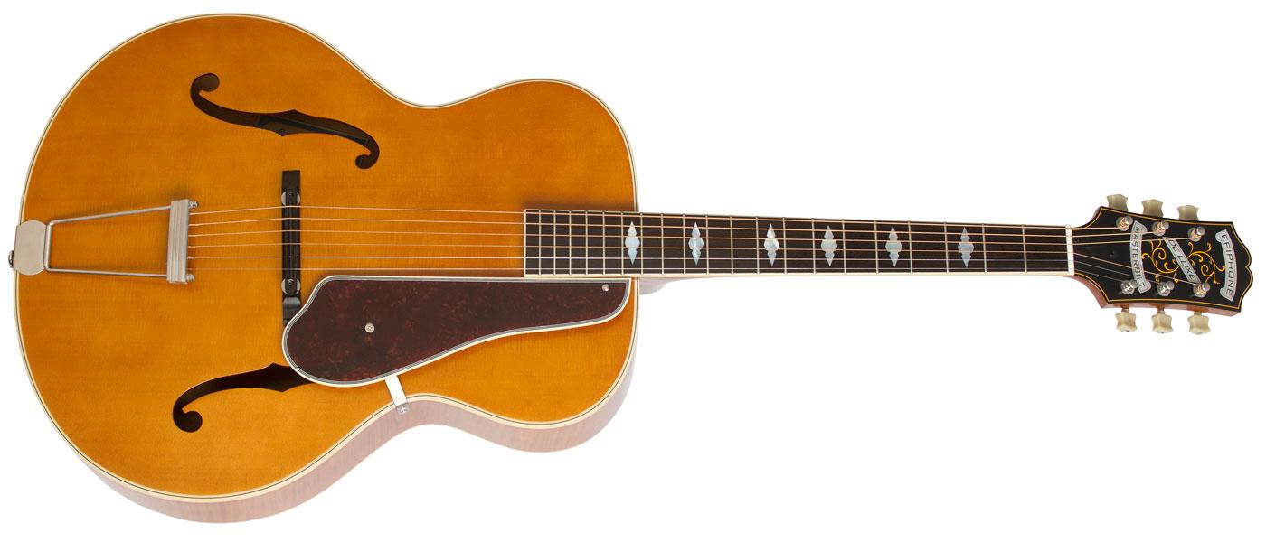 epiphone masterbilt de luxe classic acoustic electric guitar. Black Bedroom Furniture Sets. Home Design Ideas