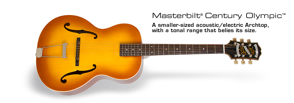 Epiphone Masterbilt® Olympic™ Acoustic/Electric Guitar: