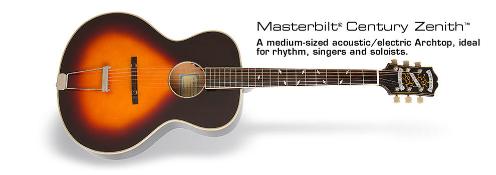Epiphone Masterbilt® Zenith™ Acoustic/Electric Guitar: