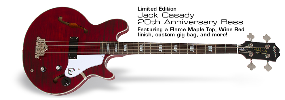 Epiphone Ltd. Ed. 20th Anniversary Jack Casady Bass Outfit: