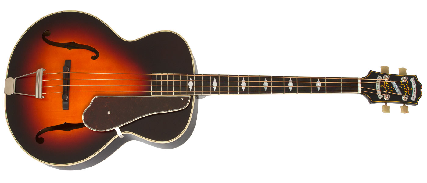 Epiphone masterbilt de luxe classic 4 string acoustic for Classic house bass