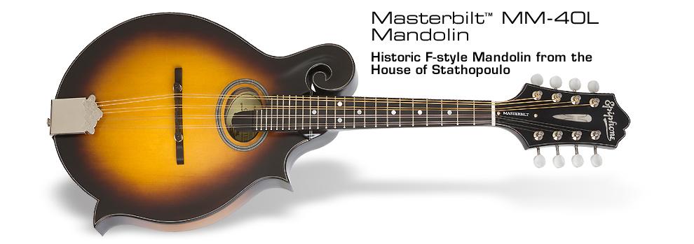 Masterbilt® MM-40L Mandolin :