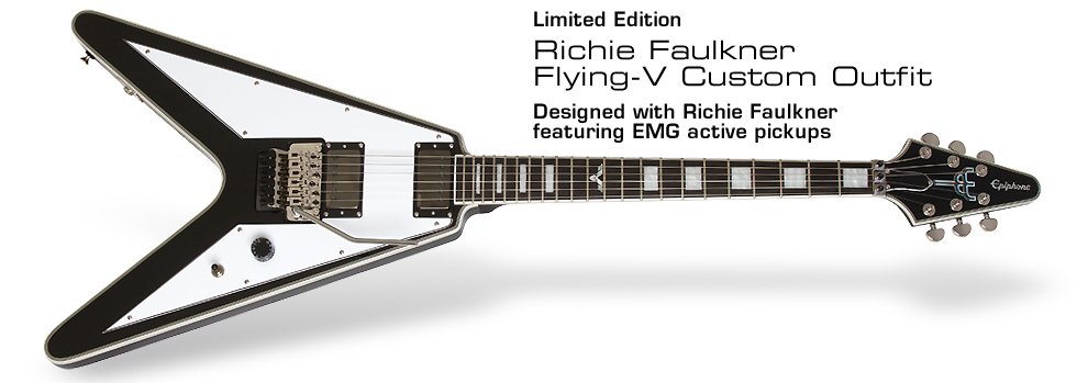 Ltd. Ed. Richie Faulkner Flying-V Custom Outfit: