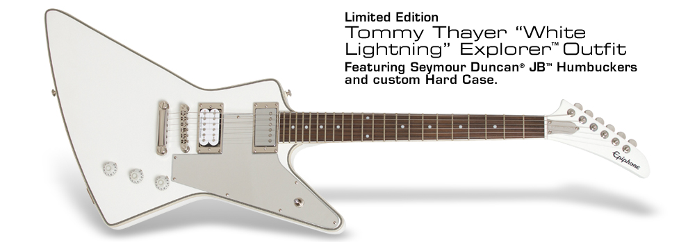"Ltd. Ed. Tommy Thayer ""White Lightning"" Explorer Outfit:"