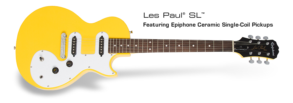 Epiphone Les Paul SL™ Electric Guitar: Featuring Epiphone Ceramic Single-Coil Pickups