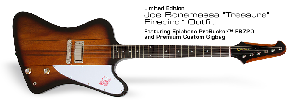 "Epiphone Ltd. Ed. Joe Bonamassa ""Treasure"" Firebird™-I:"