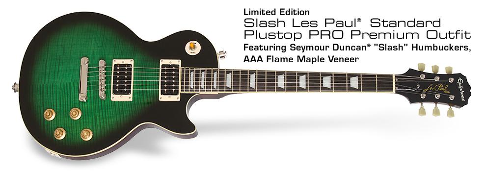 Ltd. Ed. Slash Les Paul Standard Plustop PRO Premium Outfit: