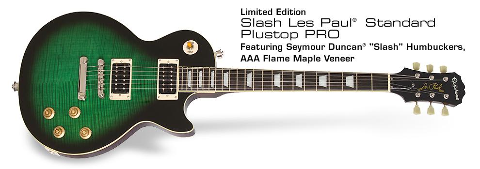 Ltd. Ed. Slash Les Paul Standard Plustop PRO: