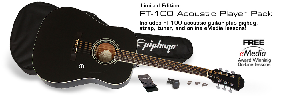 Epiphone FT-100 Player Pack :