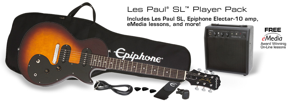 Les Paul SL™ Player Pack: