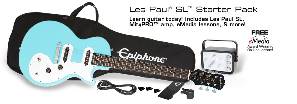 Les Paul SL™ Starter Pack: