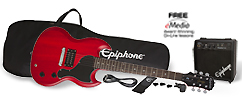 Epiphone SG-Junior Electric Guitar Player Package