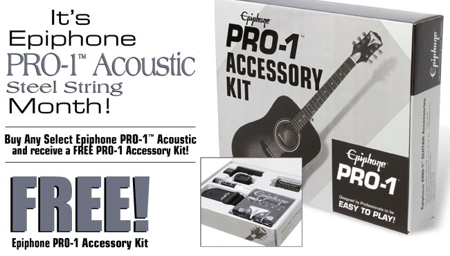 Free PRO-1 Acoustic Accessory Kit Offer!