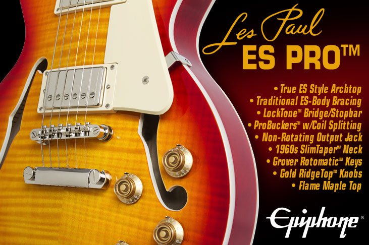 Les Paul ES PRO Feature