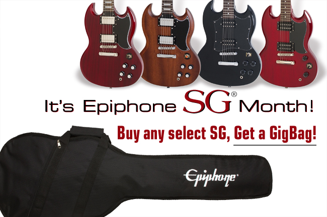 Epiphone SG Month