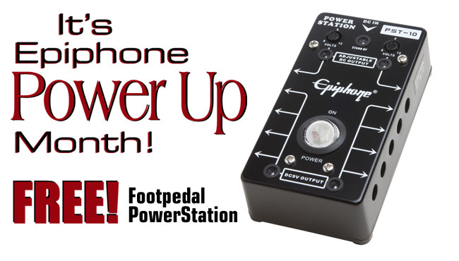FREE Footpedal PowerStation Offer